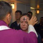 Gestempeld met het kruis van Christus