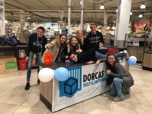 Geslaagde Dorcas Voedselactie in Apeldoorn e/o