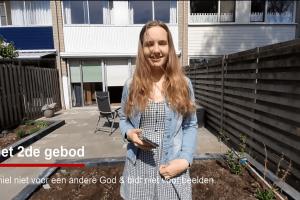 Jeugd maakt video over de 'Tien Geboden'
